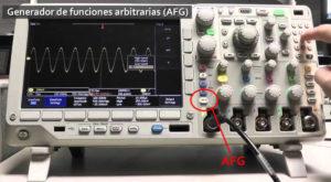 Cómo utilizar osciloscopios con instrumentos de prueba integrados