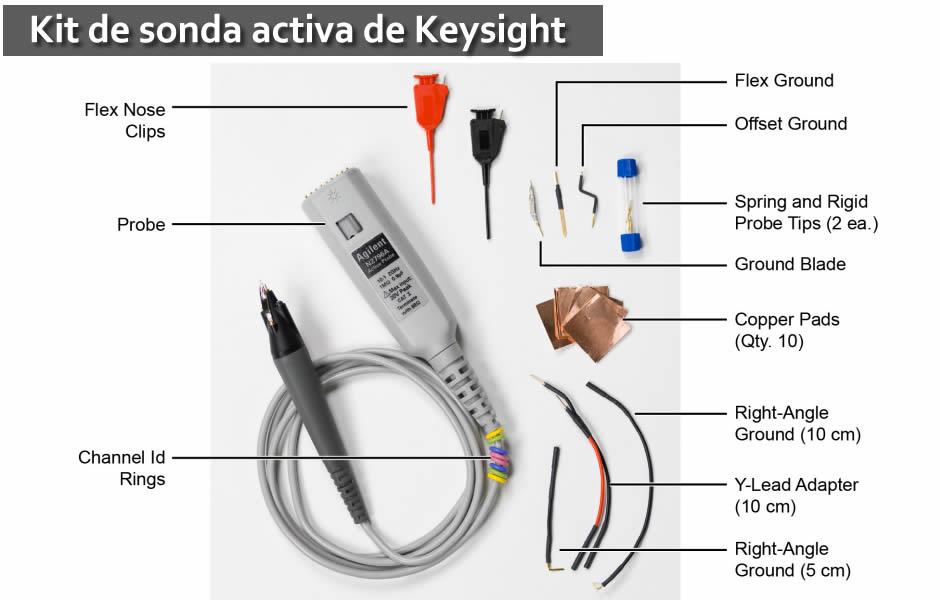 Sondas activas keysight