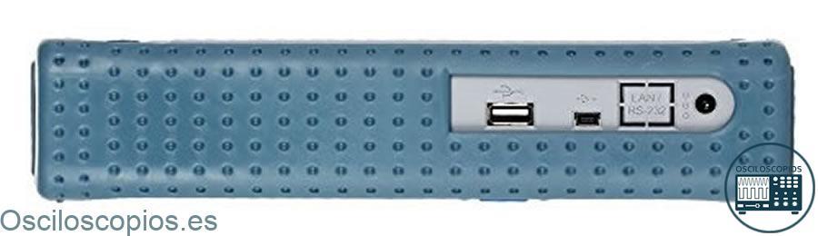 Hantek DSO8060 - Conectores USB