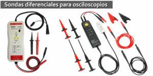 Diferencias entre sondas de alcance activo y diferencial