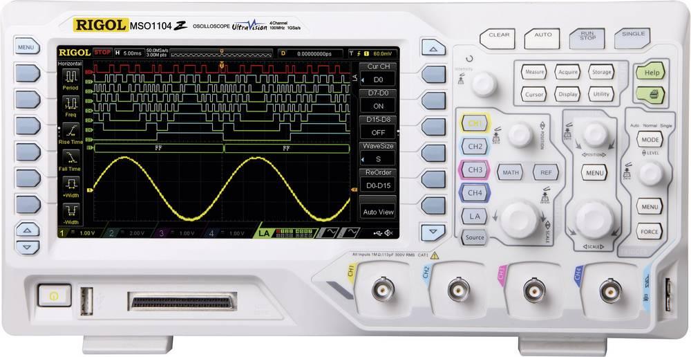 Osciloscopio Rigol MSO1074Z-S