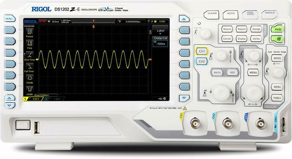 Osciloscopio Rigol 1202Z-e