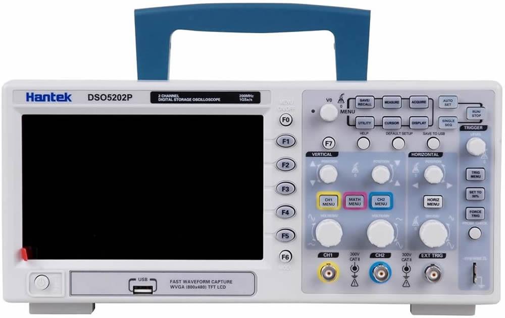 Osciloscopio Hantek 5202P